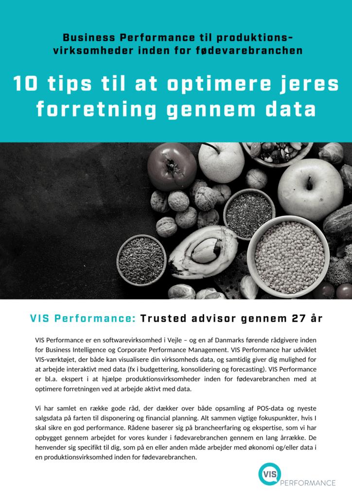 Sådan optimerer du din forretning med data - VIS Performance