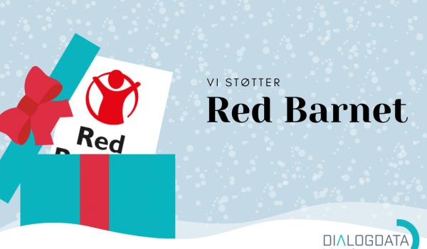 Dialog Data støtter Red Barnet