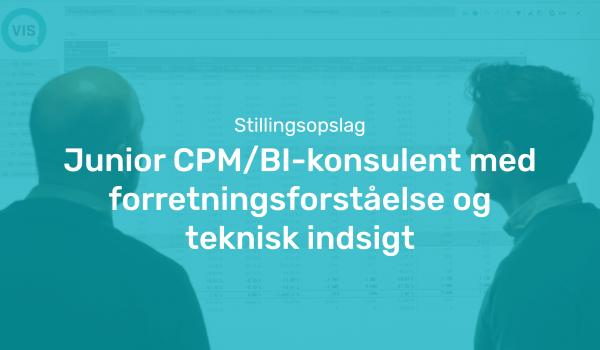 Junior CPM:BI-konsulent | VIS Performance